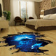 High Quality Wholesale 3D Floor Wall Sticker Vinyl adhesive waterproof sticker Home Decoration Sticker