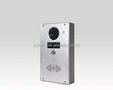 Emergency system calling SIP server intercom device