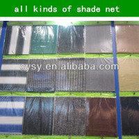 Promation!!!!! factory supply shade greenhouse shadow net /plastic balcony wind protection net with uv protection made in china