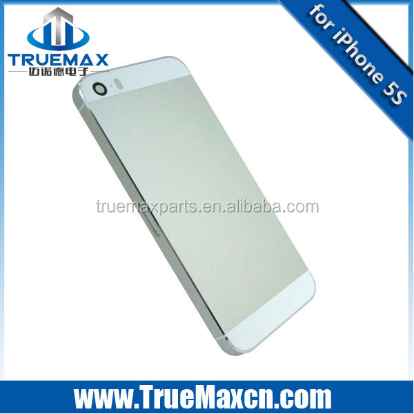 Original back housing For iPhone 5s back cover battery cover