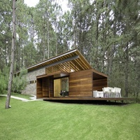 Wood House Prefabricated Container Wooden Cottage Bamboo House