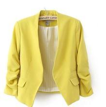 Moderné dámske sako s trojštvťovým rukávom z Aliexpress