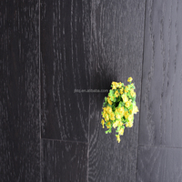 Best Price Oak Brushed Multilayer Natural Hardwood Flooring Dark Color