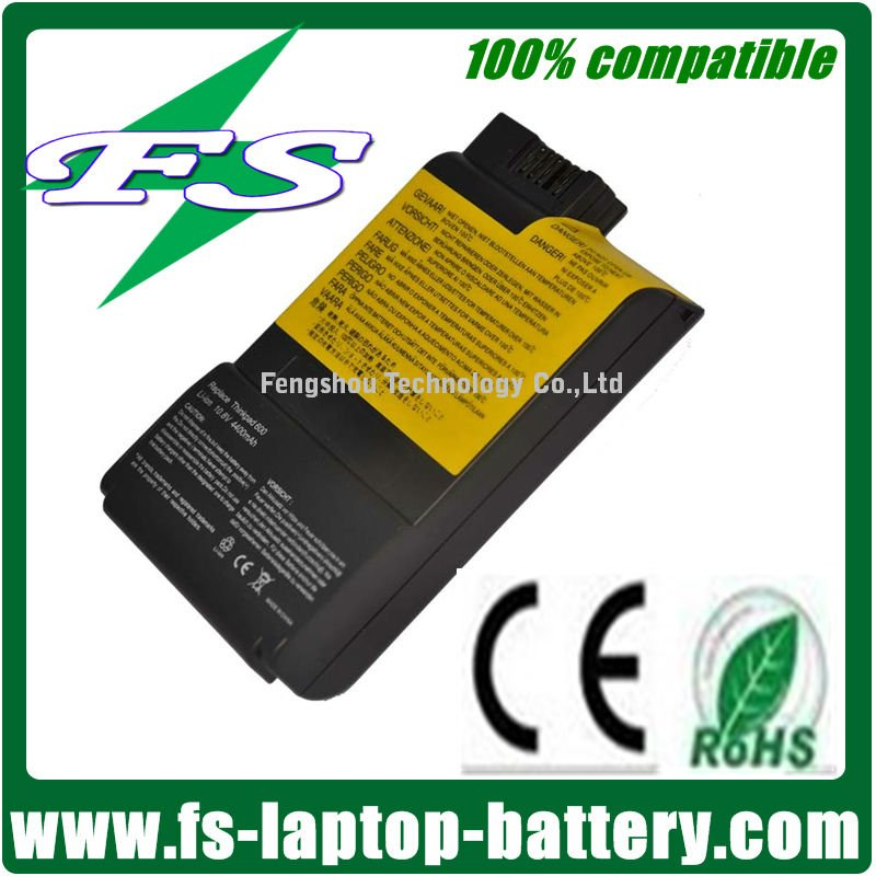 10.8V 4400MAH laptop Battery for IBM/Lenovo ThinkPad 560 600 FRU 02K7016 ASM10L2158 Series