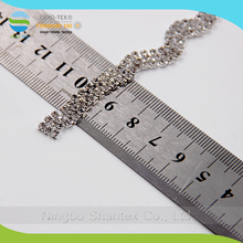 High quality Rhinestone crystal diamond cup chain for decoration