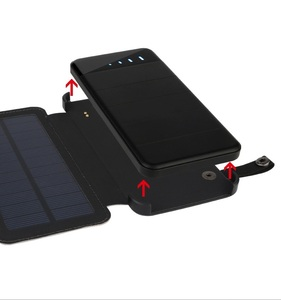 10000mah portable solar mobile phone charger/solar cell phone charger/solar power bank
