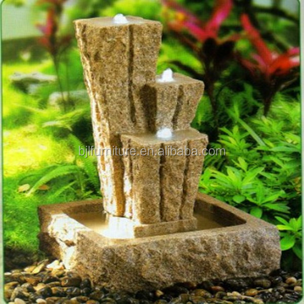 Kunstmatige indoor decoratieve waterval mini fontein