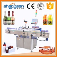 Custom-Build New Coming Vial Round Bottle Labeling Machine