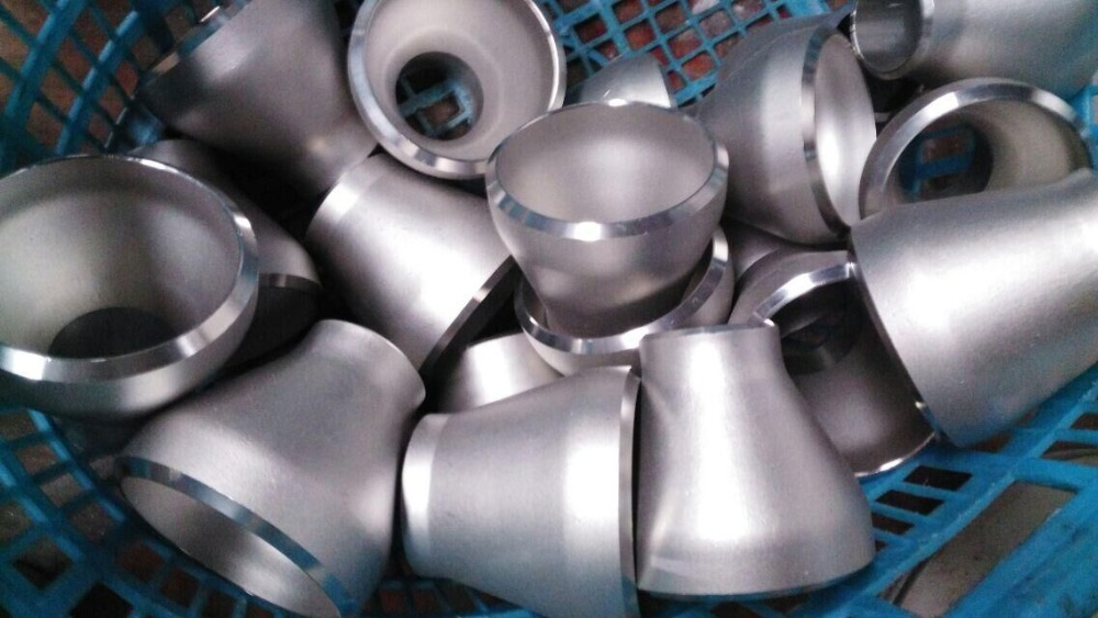 Stainless Steel Reducer Threaded Eccentric / Cocentric A403 WP347 / WP904L SCH80S SCH40S ASME B16.9