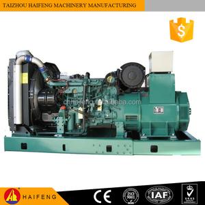 60hz 1800rpm TAD1640GE engine VOLVO Penta diesel generator set prime power  400kw 500kva