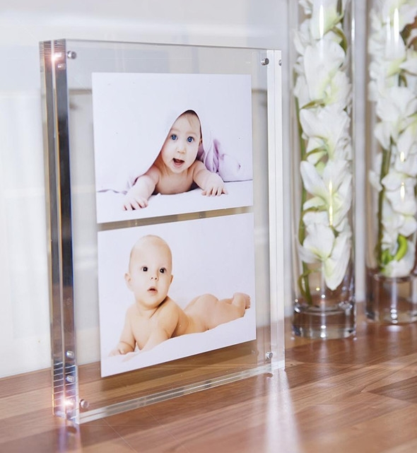 8x10 Double Sided Glass Photo Frame - Buy Double Sided Glass Photo ...