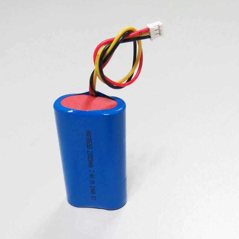 Pin Lithium 2000MAh 2200MAh 2600MAh 3.7V Li-ion 18650 Pin 3000Mah Với CE, Giấy Chứng Nhận ROHS