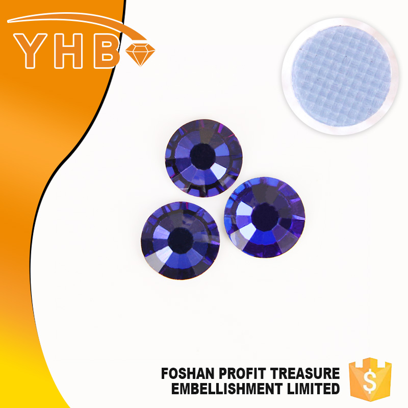 Hot sale top quality cloth decoration SS10 dmc crystal hot fix stone