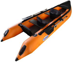 Inflatable kayak boat with PVC or Hypalon tubes sport boat kayak