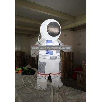 Gonfiabile astronauta del fumetto gonfiabile astronauta mascotte