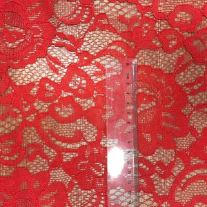 Custom Color Mesh Embroidered 3D Lace Fabric For Dress In China Lace Market