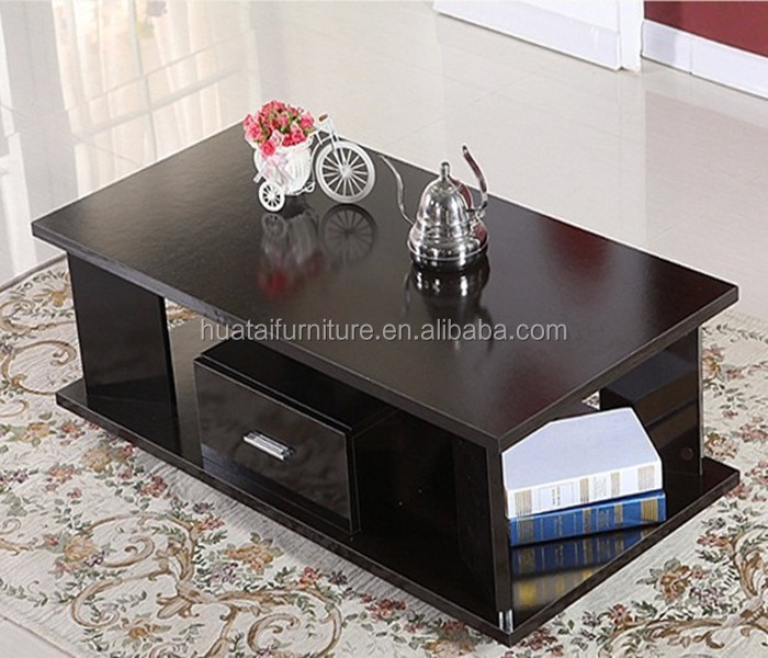 Modern practical plywood mdf wooden living room furniture for Center table design for office