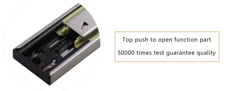 45mm width side mount drawer slides
