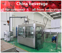 2016 new electrical control balance pressure water filling machine on sale