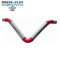 U V Fire Loop Flexible Joint Grooved Seismic Expansion Joint For Pipe Line Large Movement