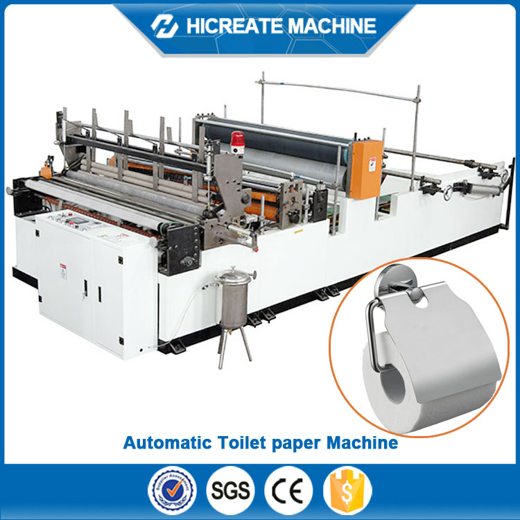 Best price of Toilet tissue jumbo roll paper converting machine with certificate