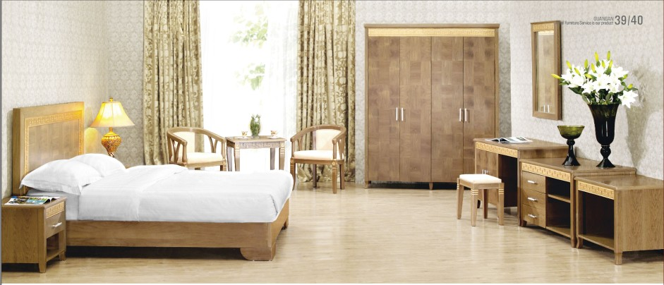 2017 New Style Hilton Hotel Bedroom Furniture Made In China