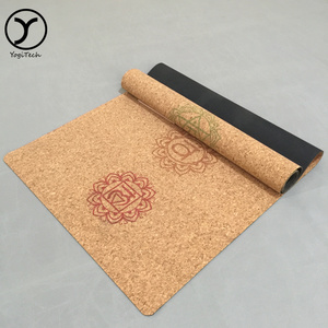 Eco-Friendly Comfort Collapsible Anti-Tear High Density 2015 new yoga & pilate type cork yoga mat