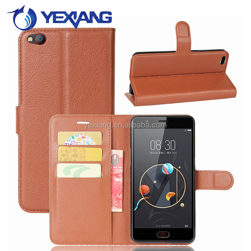 Magnetic Closing Holster Case for nubia M2 lite pu leather cover