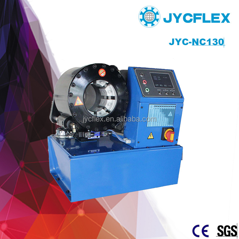 computer with pressure control hose crimping machine/nc hose crimping machine