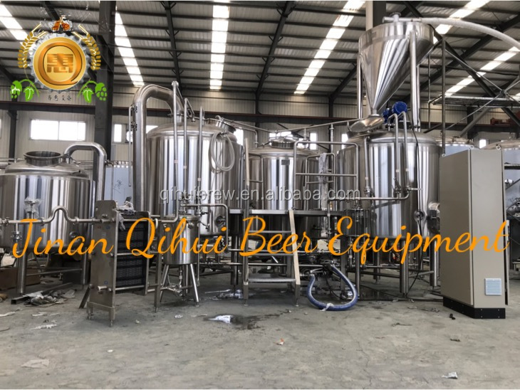 Turnkey Project 1000L beer factory equipment