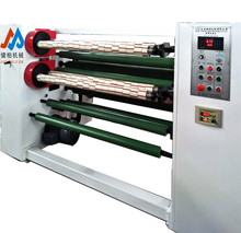 Comfortable new design auto cutting machine manufacturer core loader and unloader bopp tape slitting