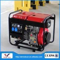 Professional diesel mini wind power white noise generator silent