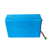 ISO9001 Certified 24v 30Ah UPS backup power supply lithium battery with BMS