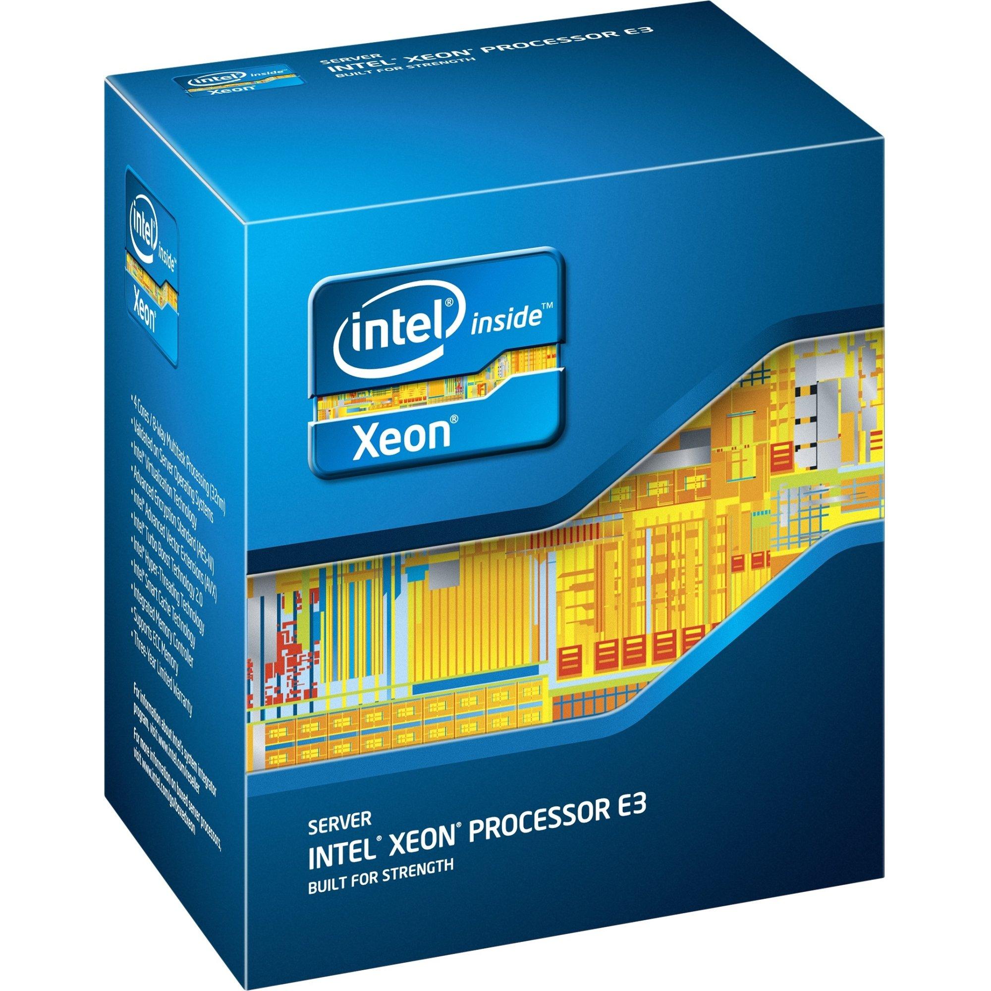 Intel Xeon E3-1246 v3 Quad-core (4 Core) 3.50 GHz Processor BX80646E31246V3