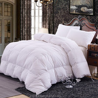 Luxury Hotel Quilt Goose Down Filling cotton duvet for King Size
