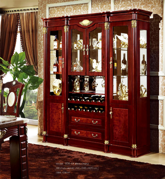 Home Antique Whisky Wooden Wine Glass Display Cabinet Living Room With Wine Rack Buy Display