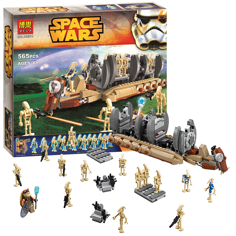 New STAR WARS Battle Droid Troop Carrier 565pcs Clone War Building Blocks  Bricks Action Figures Starwars Toys Legoeddis