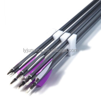 Jx030c Carbon Shaft 30'' Hunting Arrows,Compound Bow And Arrow - Buy Arrow  Product on Alibaba com