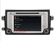 "7"" Capacitive Screen Android 5.1.1 Automotive GPS Navigation System for Car Radio Stereo For SUZUKI SX4 2006-2012"