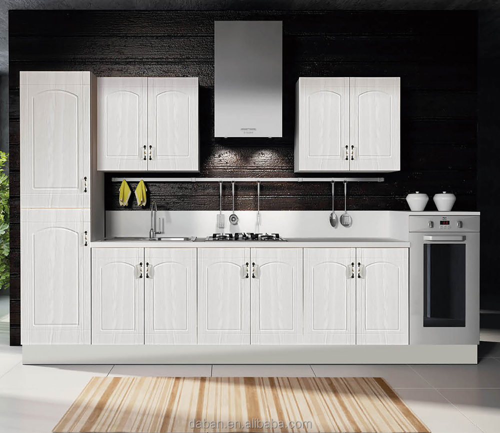 Modern Germany PVC Kitchen Cabinet Design For Small Kitchens