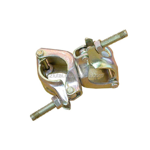 Factory price JIS Scaffolding coupler scaffolding pressed fixed double clamp