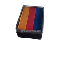 Body Art One Stroke Professional Face Paint Cake (30g 48g) ~ Neon Rainbow