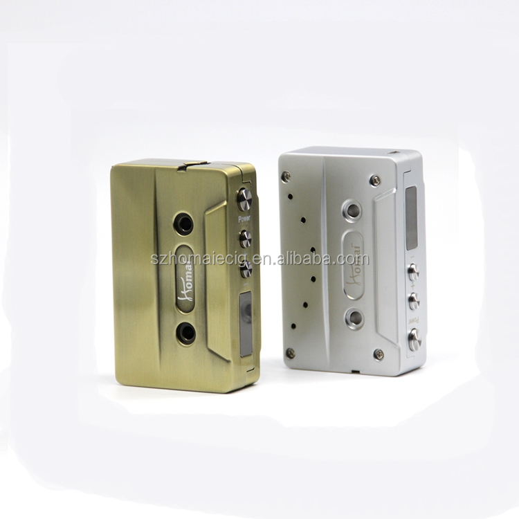 Alibaba Express Retro 30W cassette ego electronic with Mic USB charger