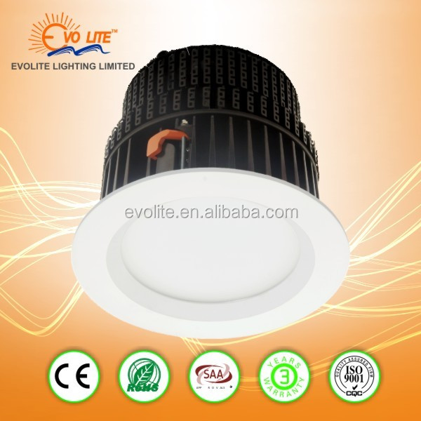 downligh 100w dimmable led downlight 205mm cutout led downlight 230v