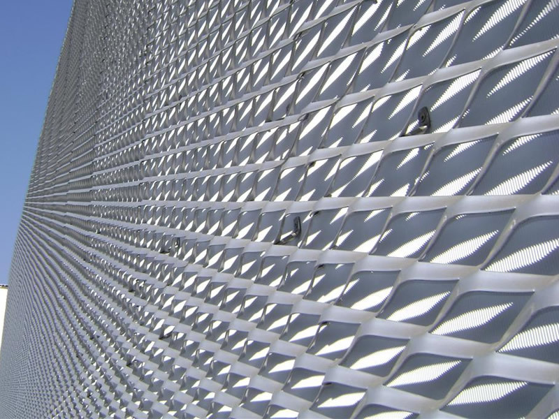 Hot Dipped Galvanized Steel Wire Mesh Flattened Expanded Sheet ...