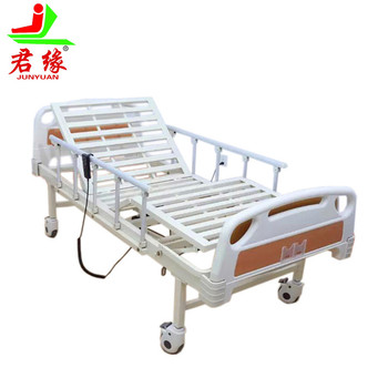 Hot Sale cheap Best Hospital furniture 2 functions electric hospital bed with toilet Bed Rail