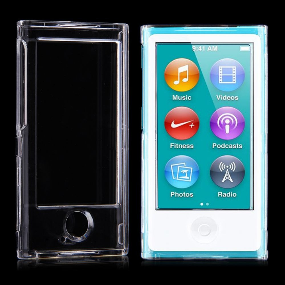 for iPod Nano 7 cover transparent hard protective case covers