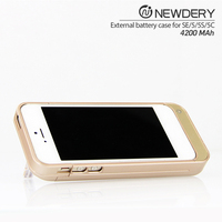 4200mah external power bank case for iphone 5 5s SE battery case our company want distributor