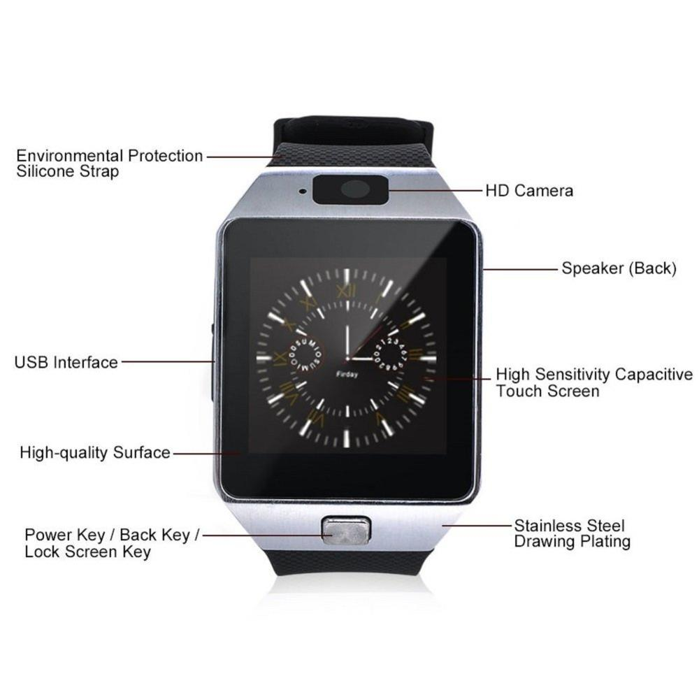 Cheapest Bluetooth Smart Watch for Android Ios Mobile Phone