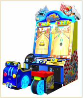 Duo Drive amusement game and redemption machine